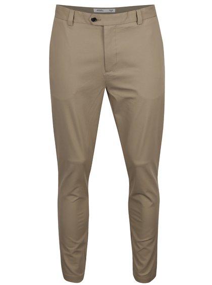 Pantaloni bej skinny Burton Menswear London