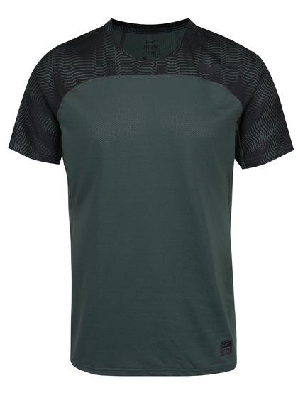 Zelené pánské funkční triko Nike