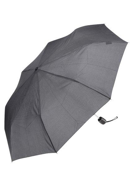 Umbrelă gri & negru Doppler
