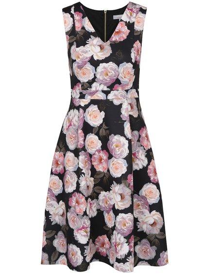 Rochie negru & roz Dorothy Perkins Petite cloș