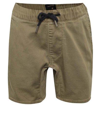 Pantaloni scurți maro Quiksilver de băieți