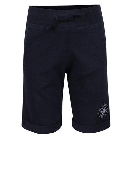 Pantaloni scurți albaștri Blue Seven cu aplicație