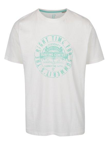 Krémové triko s potiskem JP 1880