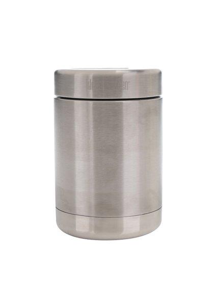 Nerezová termo dóza na jídlo ve stříbrné barvě Klean Kanteen Canister 473 ml