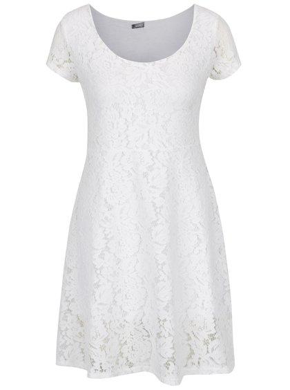 Rochie midi din dantelă albă ZOOT