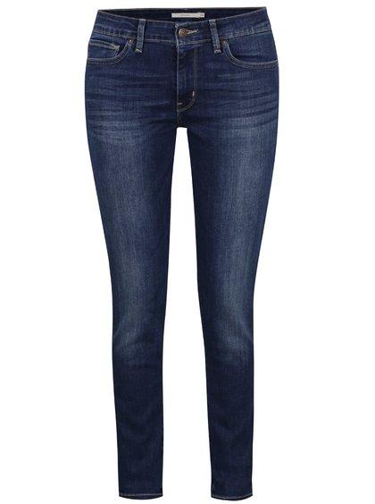 Tmavě modré dámské skinny džíny Levi's® 714