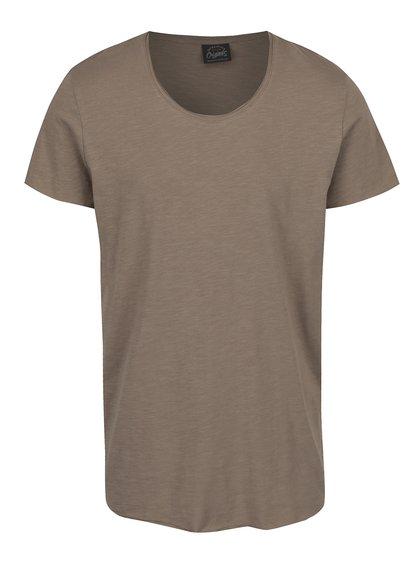 Béžové triko Jack & Jones Orbas