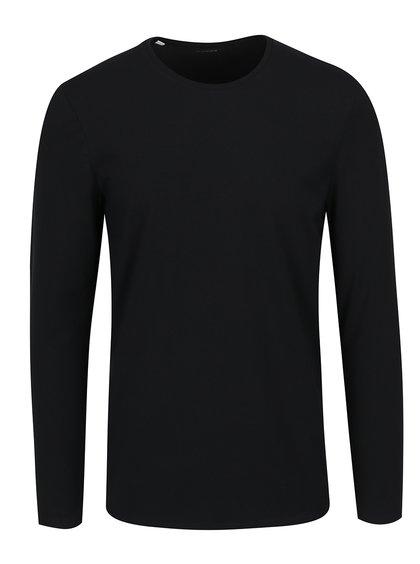 Bluză basic neagră Selected Homme Basic