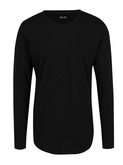 Bluză neagră basic ONLY & SONS Matt