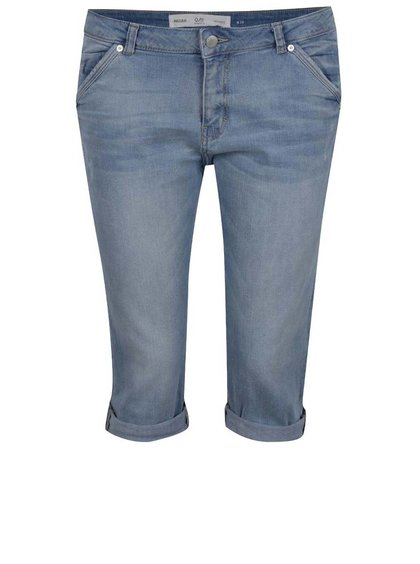 Pantaloni albaștri trei sferturi din denim QS by s.Oliver