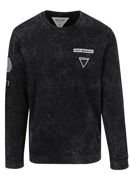 Bluză neagră ONLY & SONS Latif