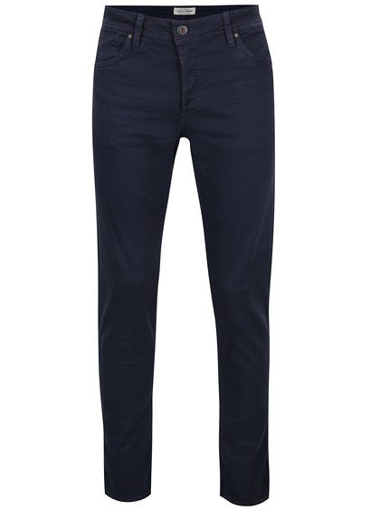 Blugi slim fit bleumarin Jack & Jones Glenn