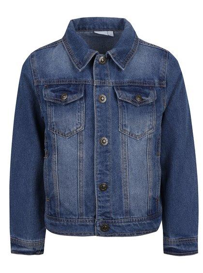 Jachetă albastră din denim pentru băieți Name it Boom