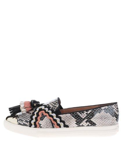 Pantofi slip-on cu ciucuri colorați Miss KG Lucinda