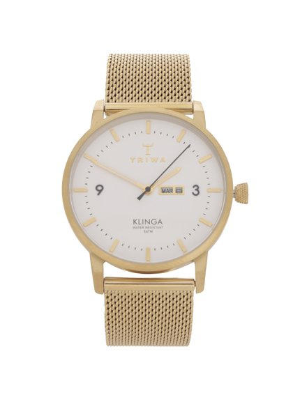 Dámské hodinky ve zlaté barvě TRIWA Klinga