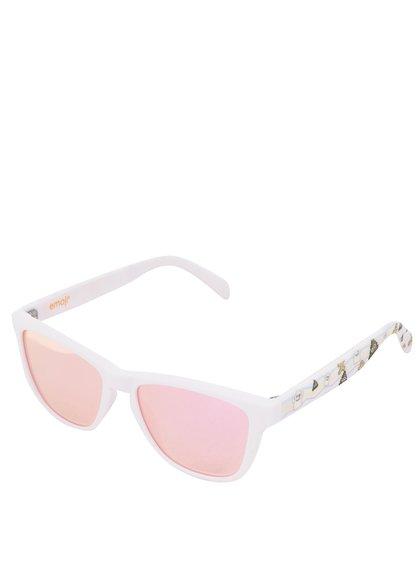 Ochelari de soare pentru fete cu lentile polarizate roz - Emoji Sweet Objects