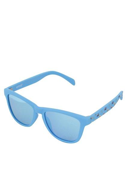 Modré klučičí sluneční brýle Emoji Spaces