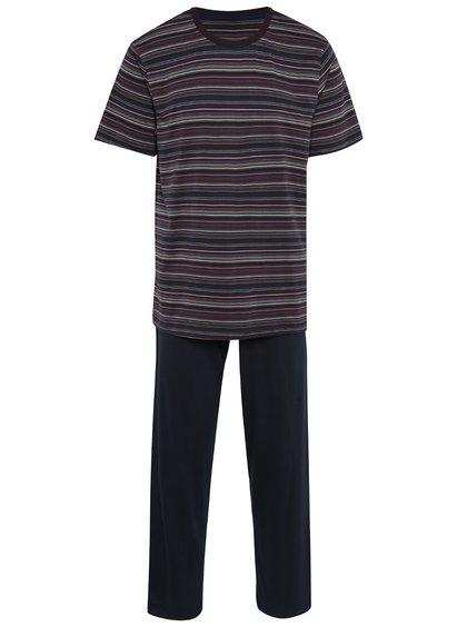 Pijama albastru închis din bumbac pentru bărbați -  M&Co