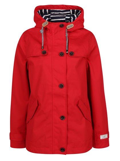 Červená dámská nepromokavá bunda Tom Joule