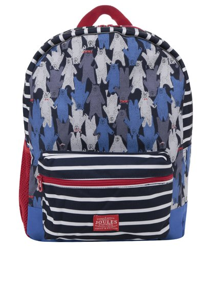 Modrý klučičí vzorovaný batoh Tom Joule