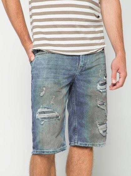 Pantaloni scurți albaștri din denim s.Oliver pentru bărbați