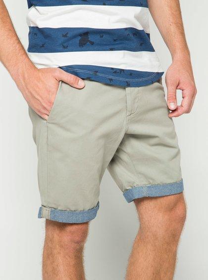 Pantaloni scurți chino gri deschis Jack & Jones Peek