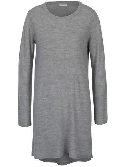 Rochie - pulover gri deschis -  Jacqueline de Yong Nona