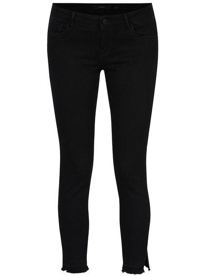 Černé slim fit džíny VERO MODA Five