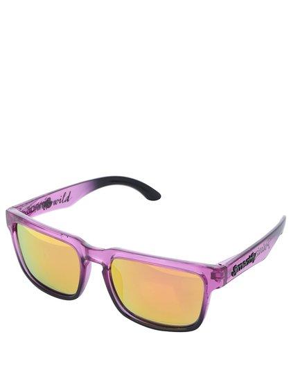 Fialové sluneční brýle Meatfly