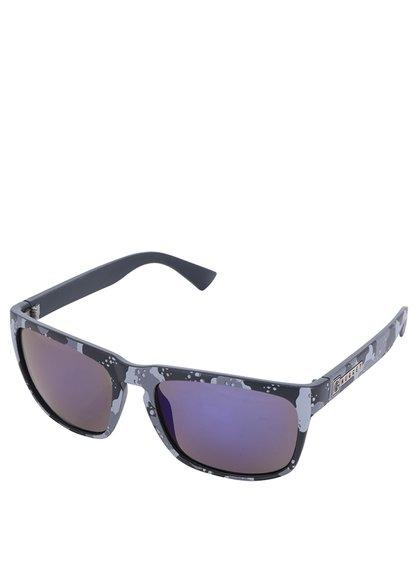 Ochelari de soare unisex gri NUGGET Shell