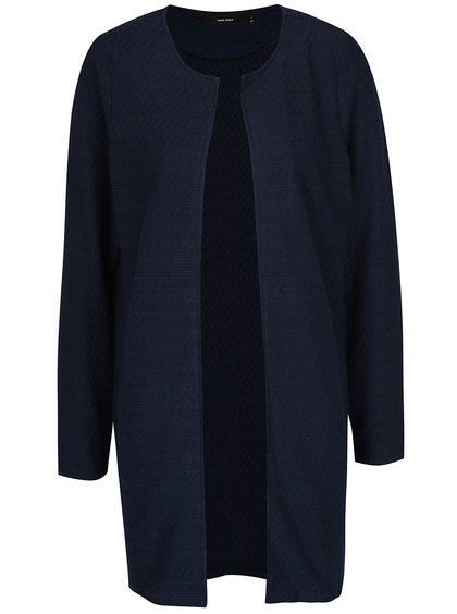 Jachetă bleumarin lungă VERO MODA Ditte