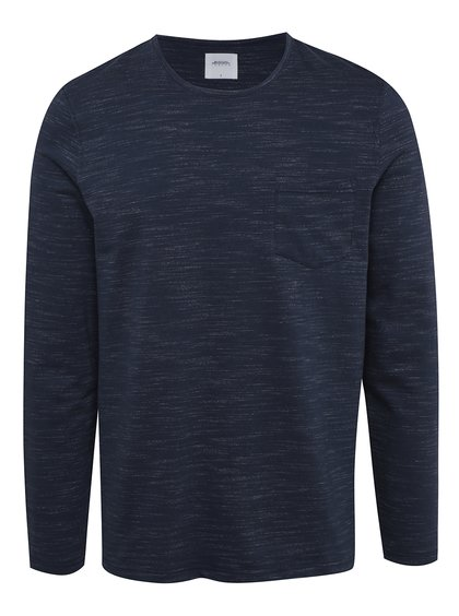 Bluză albastru melanj - Burton Menswear London