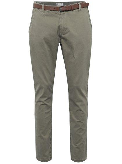 Béžové chino kalhoty s páskem ONLY & SONS Tarp