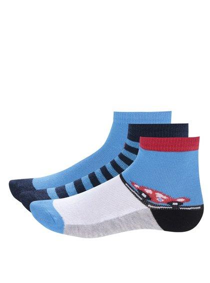 Set de 3 perechi de șosete cu print pentru băieți - 5.10.15.