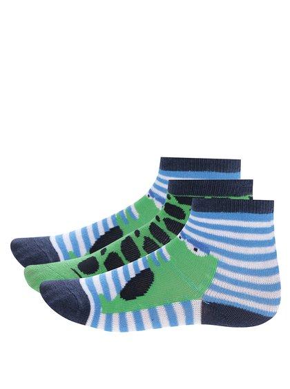Șosete albastru & verde cu imprimeu pentru băieți - 5.10.15.