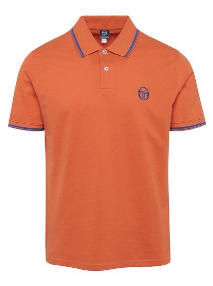 Tricou polo portocaliu pentru bărbați Sergio Tacchini Sergio Polo
