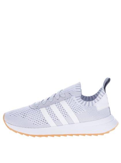 Šedo-bílé dámské tenisky adidas Originals Flashback