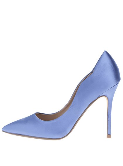 Pantofi albaștri cu toc stiletto Dorothy Perkins