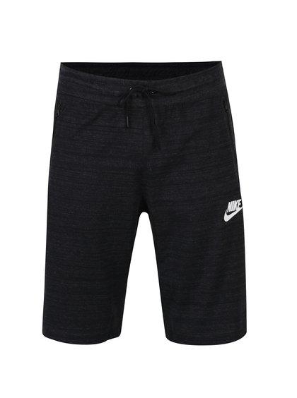 Bermude negru melanj Nike Sportwear Advance 15