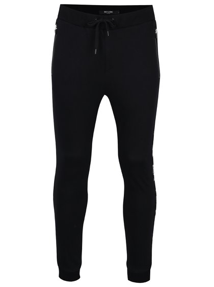 Pantaloni sport negri - ONLY & SONS Colter