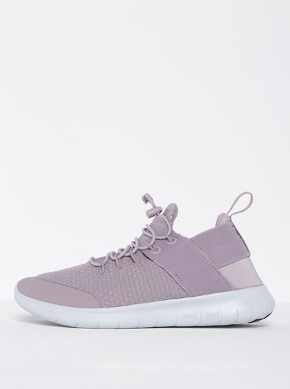 Světle fialové dámské tenisky Nike Free Commuter