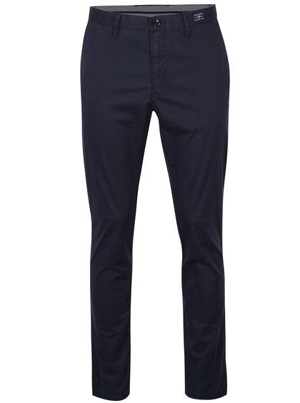Tmavě modré pánské chino kalhoty Tommy Hilfiger Denton