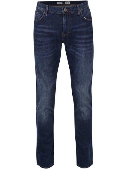 Tmavě modré pánské slim fit džíny Tommy Hilfiger Bleecker