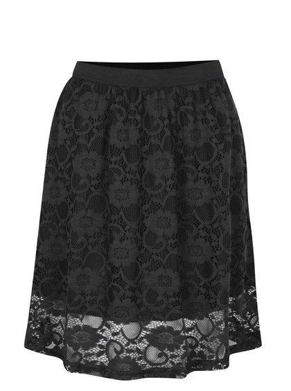 Černá krajková sukně Jacqueline de Yong Green