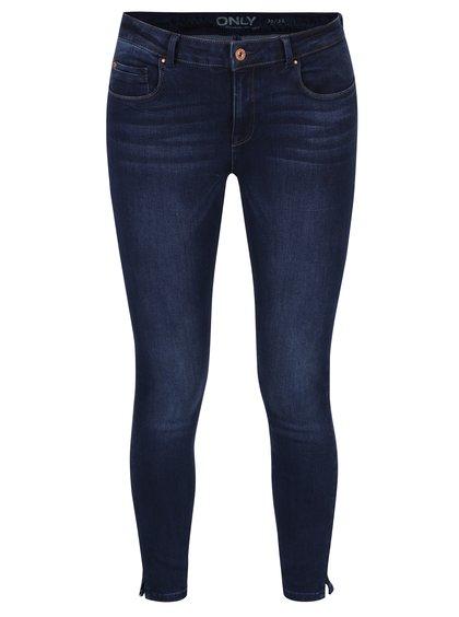 Tmavě modré push up skinny džíny ONLY Dylan