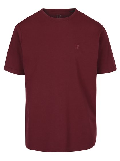 Vínové basic tričko s krátkým rukávem JP 1880