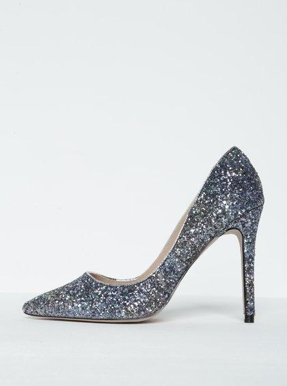 Pantofi stiletto cu paiete și vârf ascuțit -  Miss KG