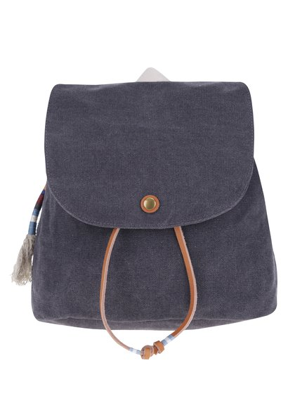 Tmavě šedý dámský malý batoh TOMS