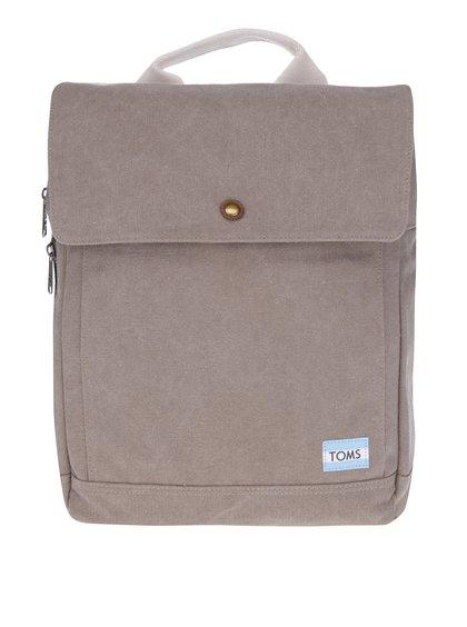 Hnědý dámský batoh na notebook TOMS
