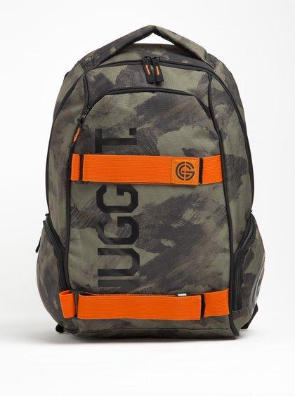 Zelený maskáčový batoh NUGGET Bradley 24 l